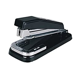 Office Standard Stapler Commercial Desk Stapler 25 Sheet Capacity Rotary Black