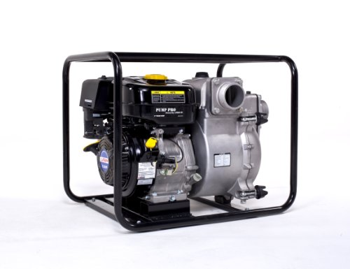 Lifan Pump Pro Lf3Twp 3-Inch Commercial/Contractor/Rental Grade Full Trash Water Pump With 9 Hp 270Cc Ohv Industrial Grade Gasoline Engine Recoil Start