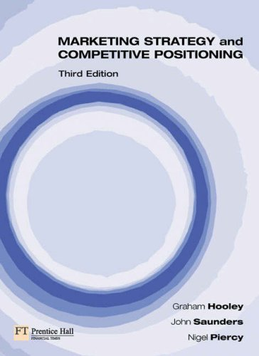 Principles of Marketing: WITH Marketing Strategy and Competitive Positioning (3rd Revised Edition) AND Onekey Blackboard Access Card