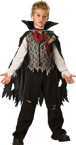 InCharacter Costumes, LLC Big Boys' Vampire B. Slayed Cape Set