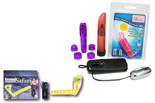 CalExotics Sexual Safari Erection Enhancer Bundle - Adult Toy Sex Kit