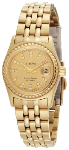 Titoni Women's 728 G-306 Cosmo Queen Swiss Automatic Watch