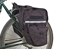 Bushwhacker Cimmaron Black - Bicycle Pannier Cycling Rack Bag Bike Rear Pack