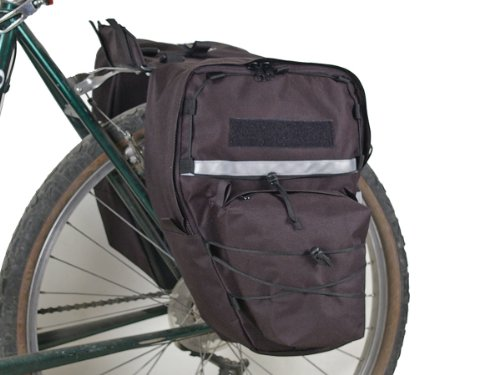 Bushwhacker Cimmaron Black - Bike Pannier