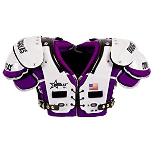 Douglas Cp 25 Series Rb-Db-Qb Football Shoulder Pads (Custom Colors) Small