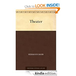 Theater (German Edition) Hermann Bahr