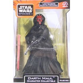 Picture of Applause Star Wars Darth Maul Character Collectible Action Figure (B000FE5NF8) (Star Wars Action Figures)
