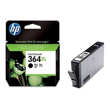 1 Cartouche d'encre pour Imprimante HP364 HP 364 HP Ink Cartridge - Noir- Avec Puce