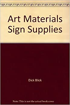 Dick blick central supplies