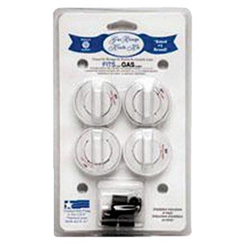 range kleen 8234 gas range knobs (white) (Gas Stove Knobs White compare prices)