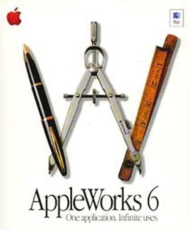 AppleWorks 6 / 6.0.4