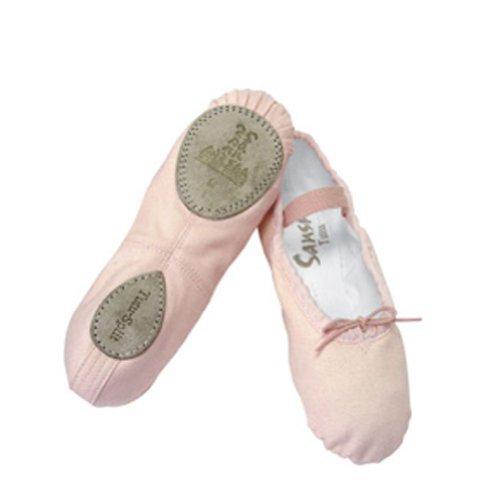 Unknown Sansha Pink Ballet Split Leather Sole Ballet Shoes Little Girls 5M-7M