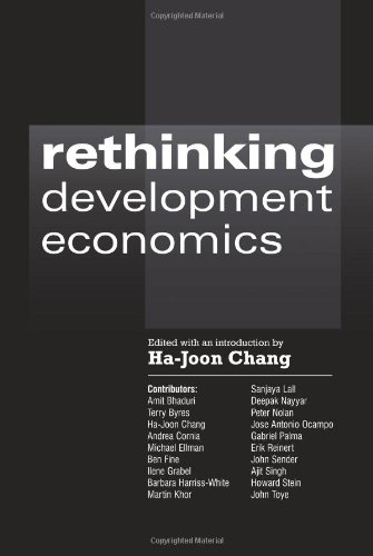 Rethinking Development Economics (Anthem Frontiers of...
