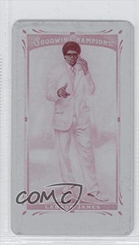 Lebron James #1/1 (Trading Card) 2013 Upper Deck Goodwin Champions Mini Printing Plate Magenta #17 (Champion Decks compare prices)