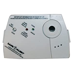 MTI SA-325 Detector Carbon Monoxide Alarm with AAA Battery