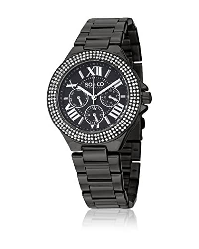 SO&CO Reloj 5019.5 Negro