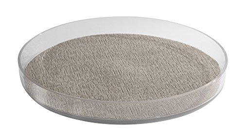 mDesign Lazy Susan Turntable Organizer for Medicine, Medical/Health