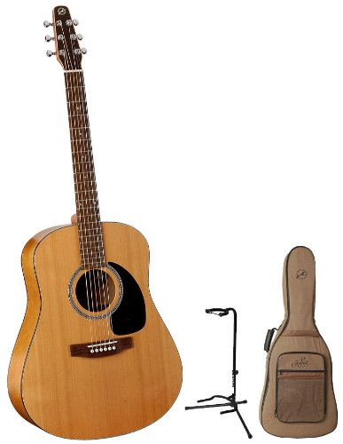 seagull s6 original acoustic guitar bundle wfree seagull
