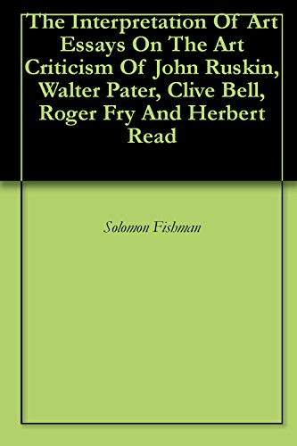 analyzing walter horatio paters aesthetic criticism essay