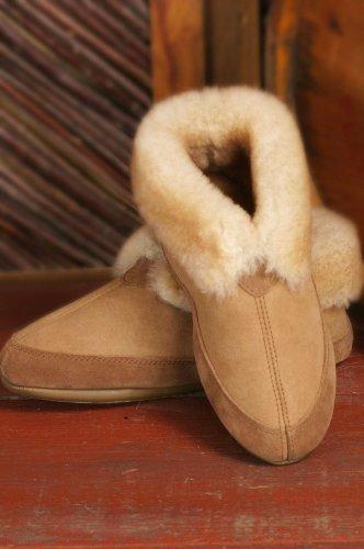 Cheap Fireside Sheepskin Slippers (B004DKT1UI)