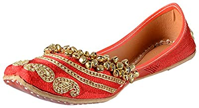 Be Notorious Women's Leather Punjabi Jutti