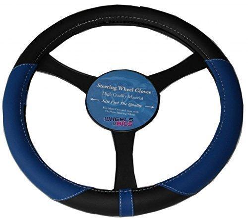 hyundai-elantra-santa-fe-leather-look-universal-steering-wheel-glove-cover-blue-ka1325