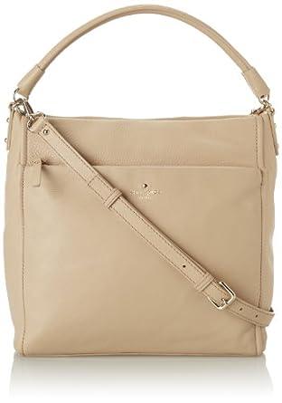 kate spade new york Cobble Hill Curtis Shoulder Bag,Affogato,One Size