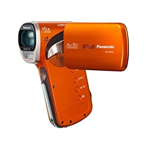 Panasonic Hx-wa2 Waterproof Full HD Camcorder Orange Hx-wa2d