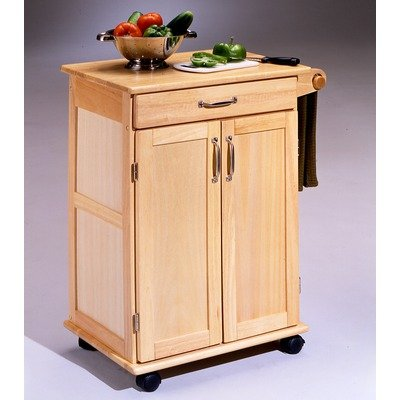 Cheap Home Styles 5040 95 Paneled Door Kitchen Cart