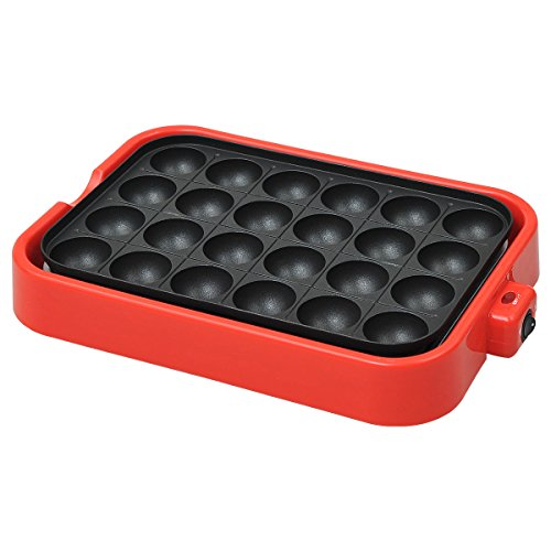 Electric Takoyaki Pan Pancake de Suzanne Lefebvre24moldes (Octopus Cake Pan compare prices)