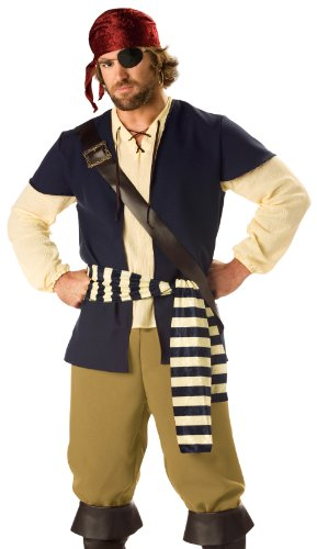 Pirate Rogue Adult Costume (Men's Adult Costume)