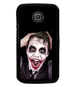 printtech Joker Back Case Cover for Motorola Moto E XT1021::Motorola Moto E (1st Gen)