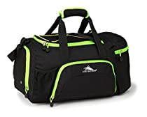 High Sierra Crossport 2 Ringleader Duffel Bag, Black/Zest