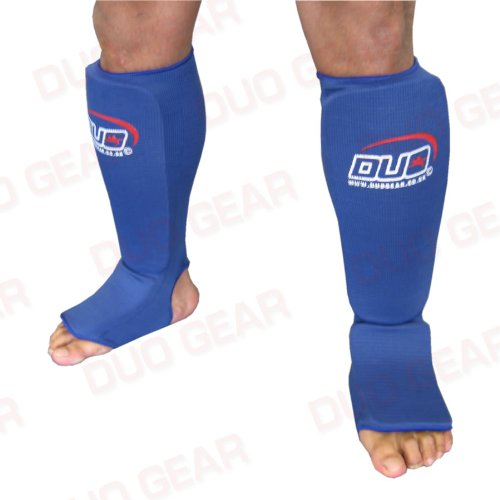 MEDIUM BLUE Muay Thai Kickboxing Karate Shin & Instep