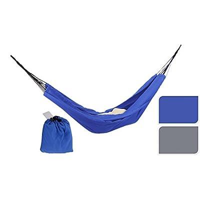 Reisehängematte Hängematte im Beutel Camping Wandern 150kg gemischte Farben von MM Exclusiv auf Gartenmöbel von Du und Dein Garten