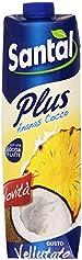 Santal - Succo Ananas Cocco, con una Goccia di Latte - 1000 ml