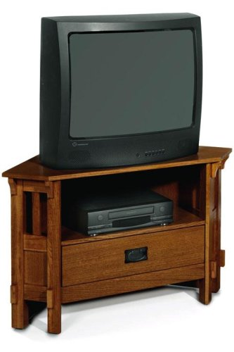 Image of Craftsman Corner Tv/vcr Stand 38