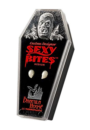 Vampire Fangs - Sexy Devil Bites Medium Teeth for Halloween Costumes