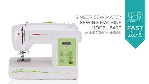 Fast Start - Singer Sew Mate 5400 (Digital Sewing Machine Singer compare prices)