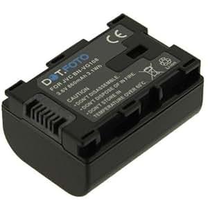 Dot.Foto Batterie de qualité pour JVC BN-VG107, BN-VG108 avec Dot.Foto InfoChip - Entièrement 100% compatibles - 3,6v / 860mAh - garantie de 2 ans [Pour la compatibilité voir la description]