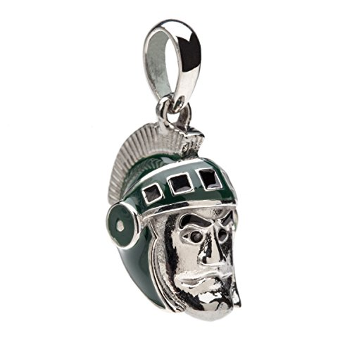Michigan State Sparty Dangle Bead Charm - Fits Pandora & Others
