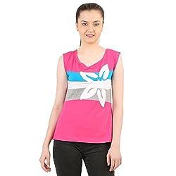 Menthol Womens Multi-color Sleeveless Tank Top