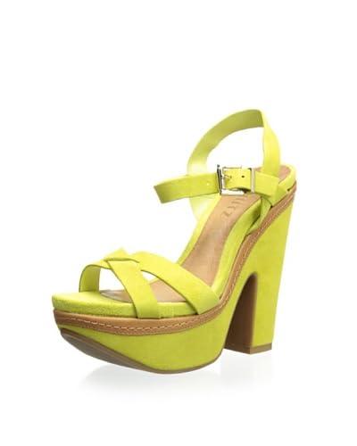 Schutz Women's Chunky Heel Sandal  - Daiquiri