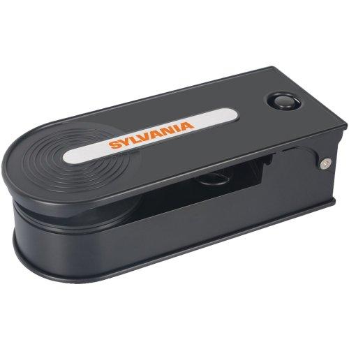 Sylvania Stt008usb Black Pc Encoding Usb Turntable