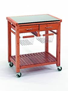 Kela 17503 mina carro auxiliar de cocina hogar for Carro auxiliar para cocina