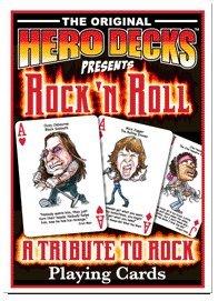 HeroDecks - Heros of Rock 'n Roll - Playing Cards