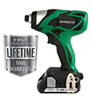 Hitachi WH18DSAL 18-Volt Lithium-Ion Impact Driver by Hitachi