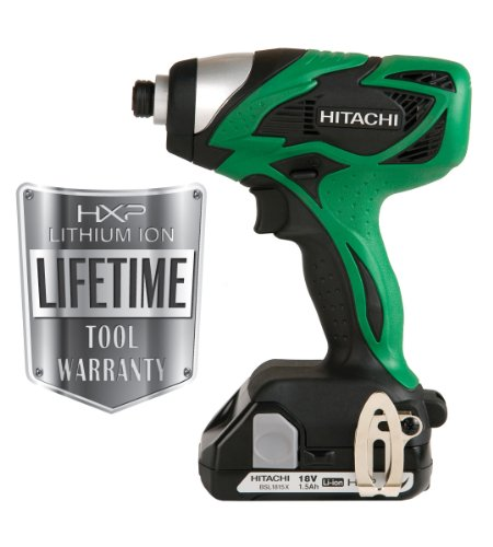 Buy Hitachi WH18DSAL 18-Volt Lithium-Ion Impact Driver