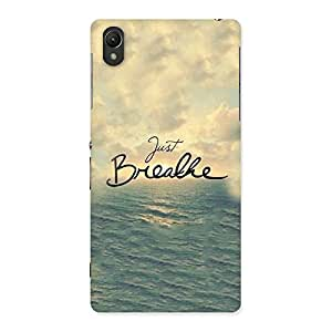 Enticing Just Breath Multicolor Back Case Cover for Sony Xperia Z2