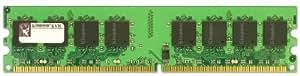Kingston ValueRAM 2 GB 800MHz PC2-6400 DDR2 DIMM Desktop Memory (KVR800D2/2GETR)